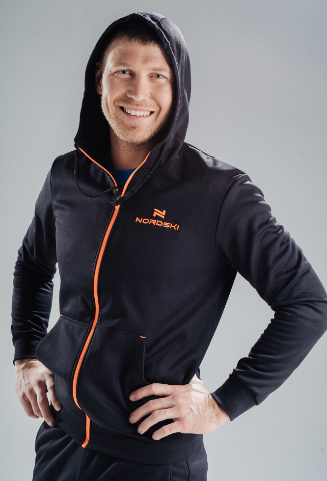 Толстовка NORDSKI Base Zip Hood М (NSM599103)