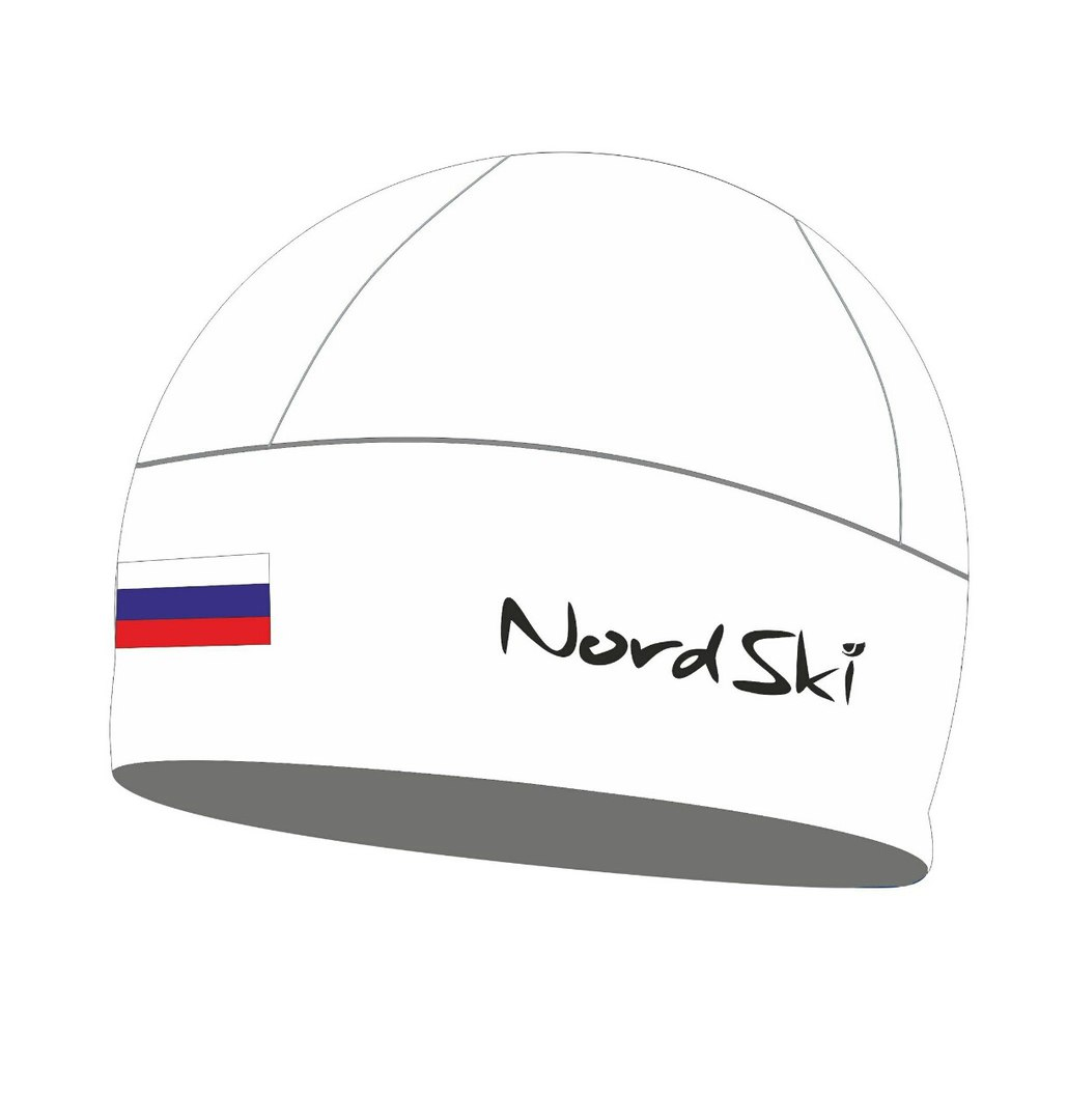 Шапочка NORDSKI Active White Rus