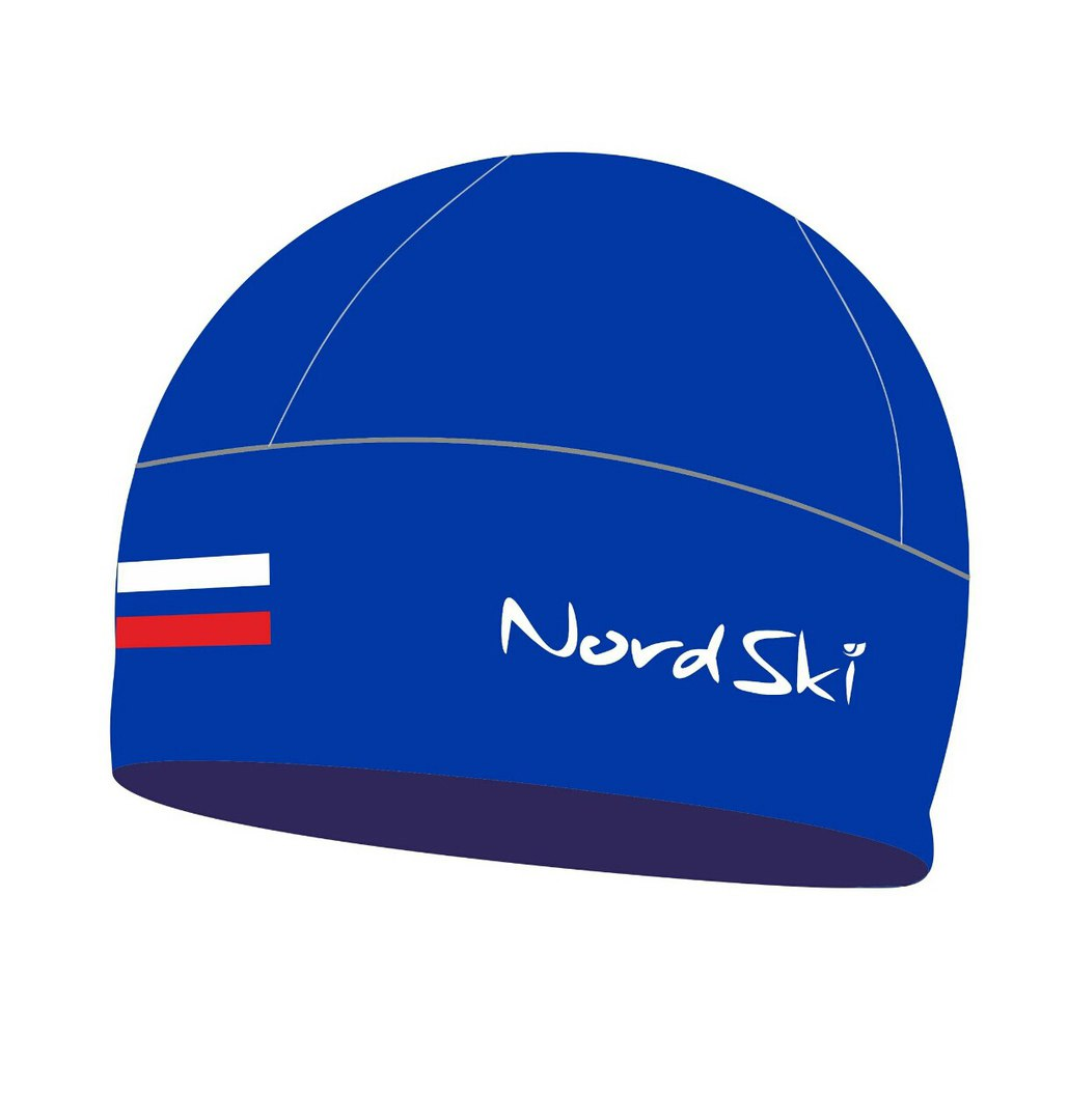 Шапочка NORDSKI Active Blue Rus